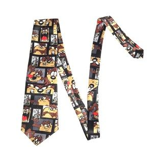 Men's Looney Tunes tie 1997 Warner Bros.